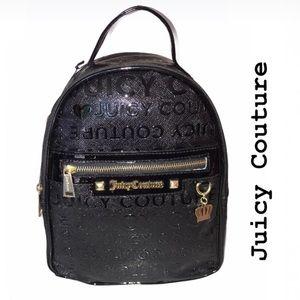 Juicy Couture Black JUICY on the Block Backpack